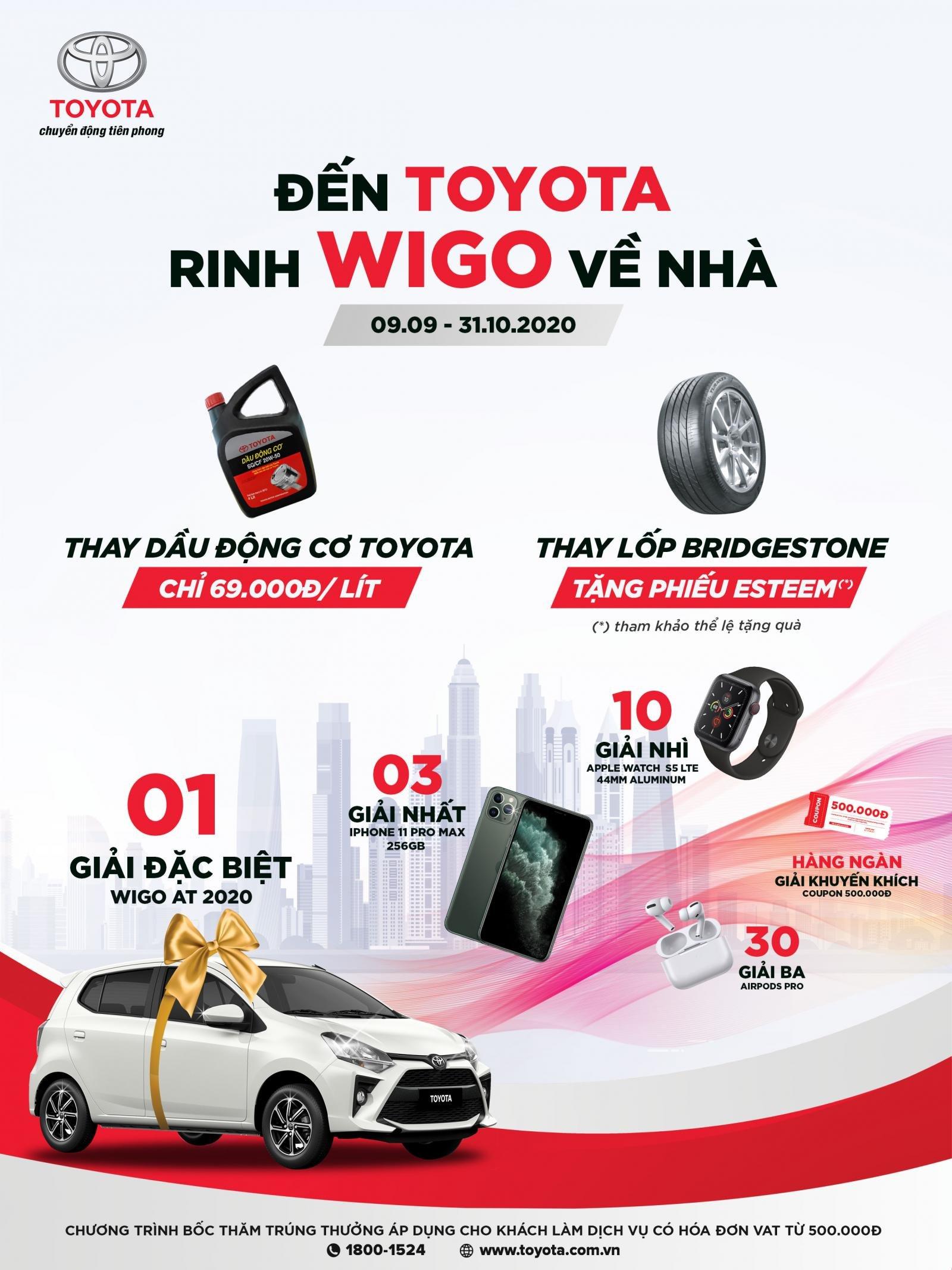 """TMV tung chương trình """"Đến Toyota, rinh Wigo về nhà"""" tri ân khách hàng"""