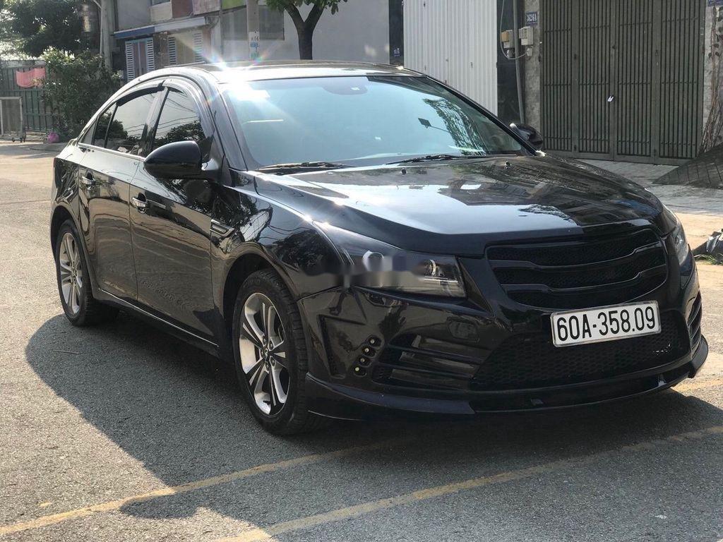 Bán Daewoo Lacetti đời 2009, màu đen ít sử dụng, giá tốt (1)