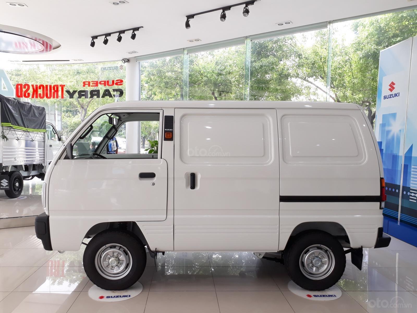 Xe tải Suzuki Van chạy giờ cấm, ưu đãi 10 triệu tháng 10 (2)
