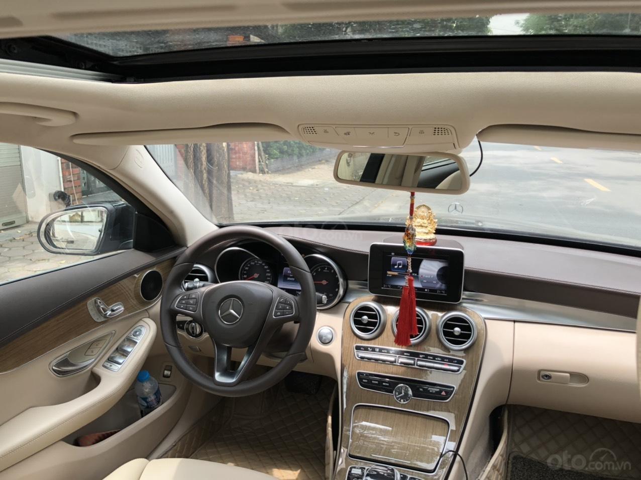 Cần bán nhanh xe Mercedes C250 Exclusive sản xuất năm 2015, xe đẹp nguyên bản (3)
