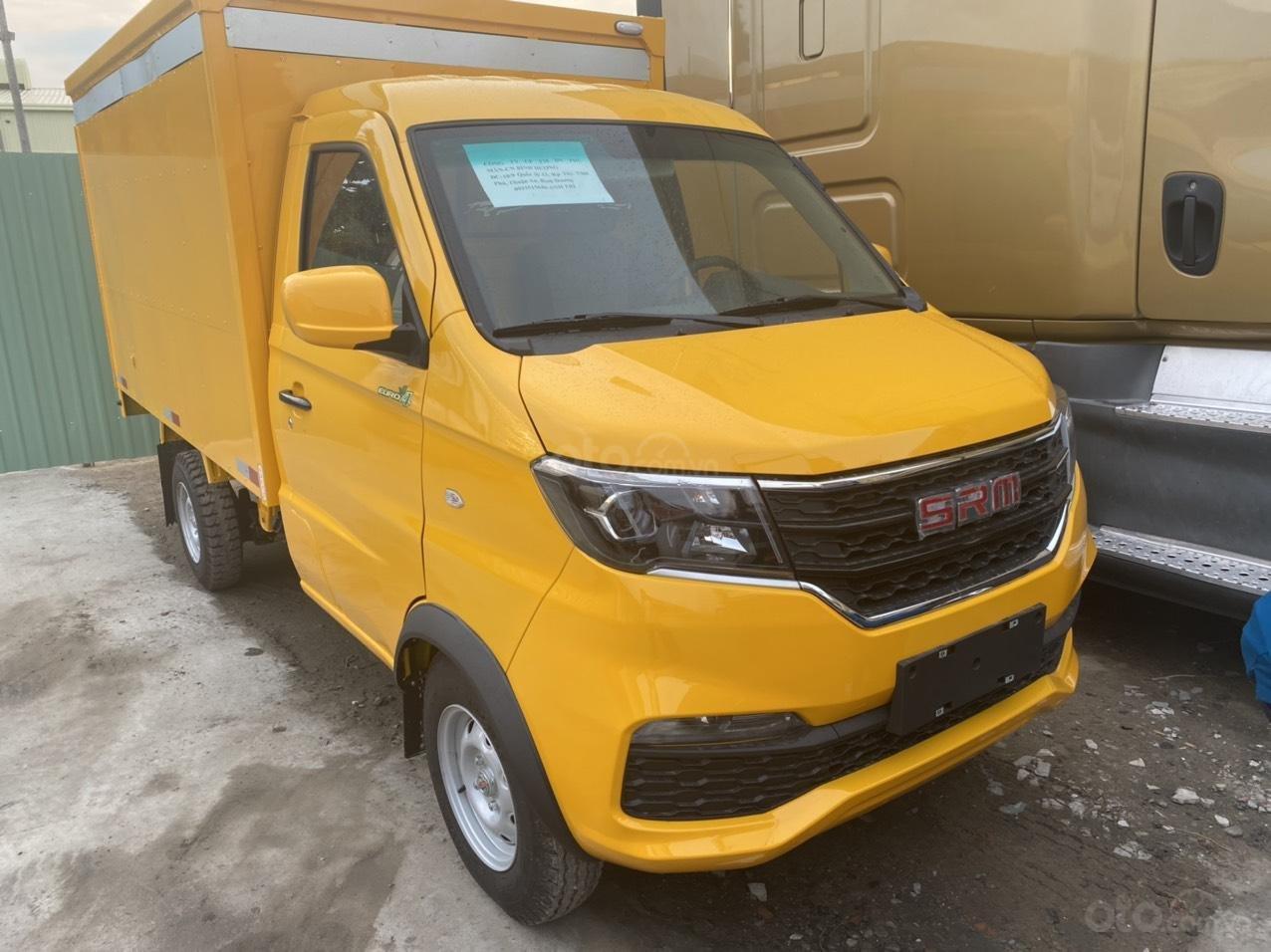 Xe tải Dongben SRM 930kg thùng kín, đời 2020 (1)