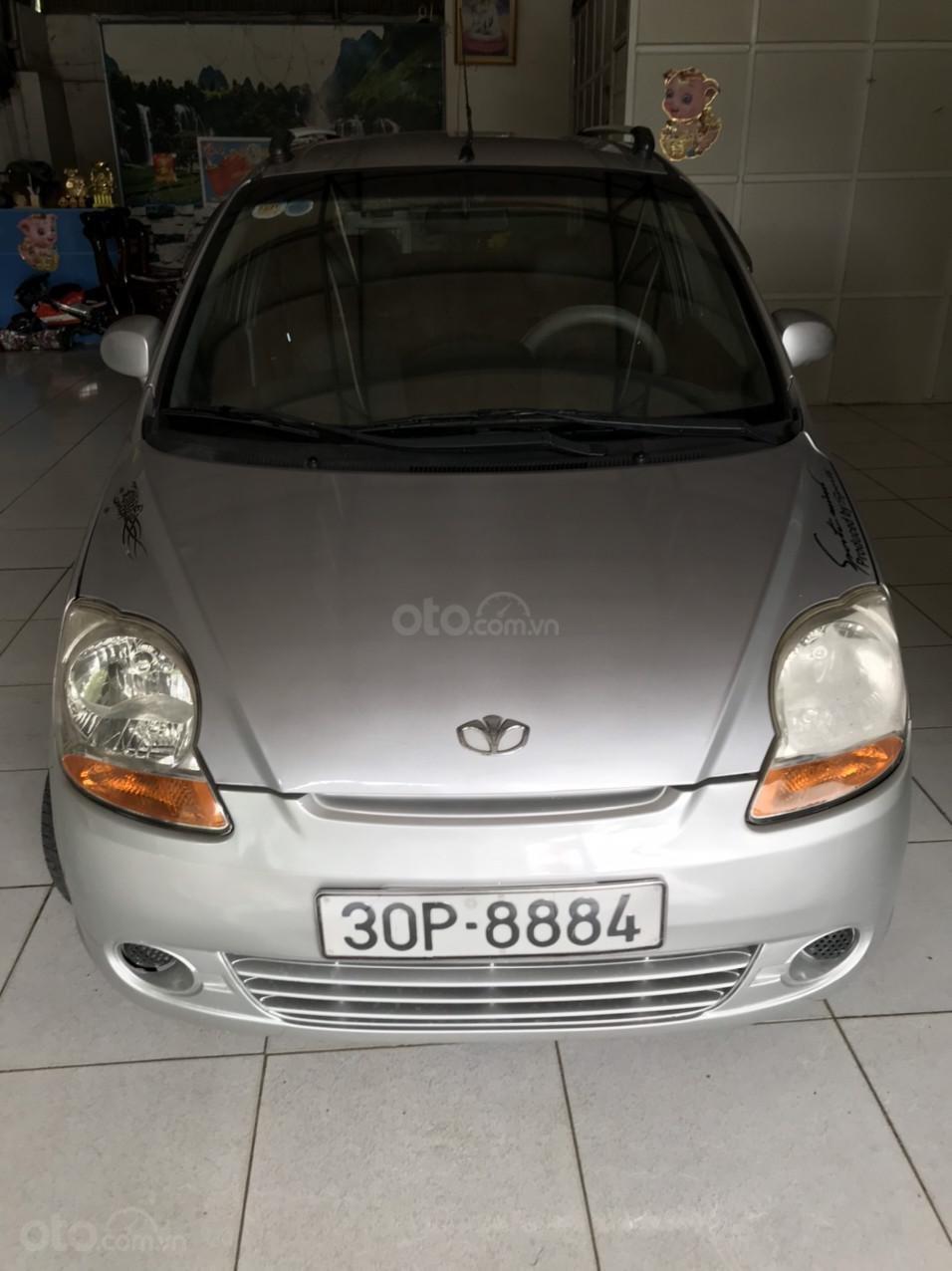 Chính chủ cần bán Daewoo Matiz 2007 màu trắng, giá chỉ 110tr (1)