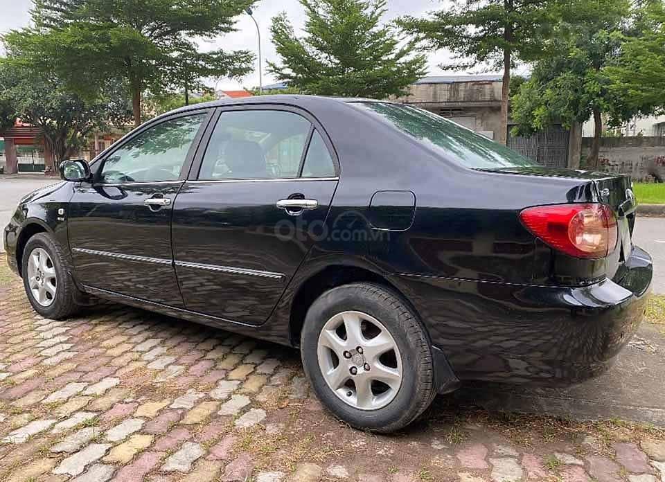 Cần bán xe Toyota Corolla sản xuất 2007, màu đen còn mới (3)