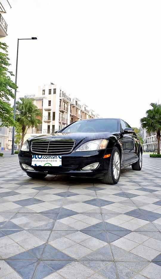 Bán ô tô Mercedes S350 sản xuất năm 2005, màu đen, nhập khẩu  (1)