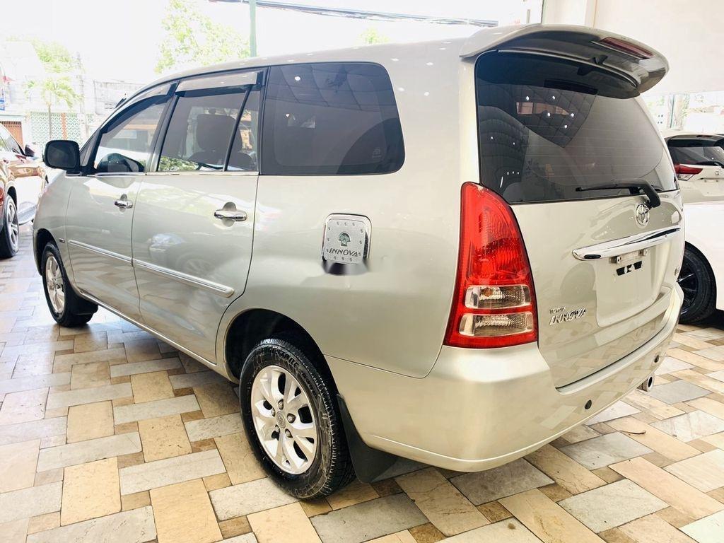 Cần bán gấp Toyota Innova G 2007, màu bạc, giá chỉ 295 triệu  (4)