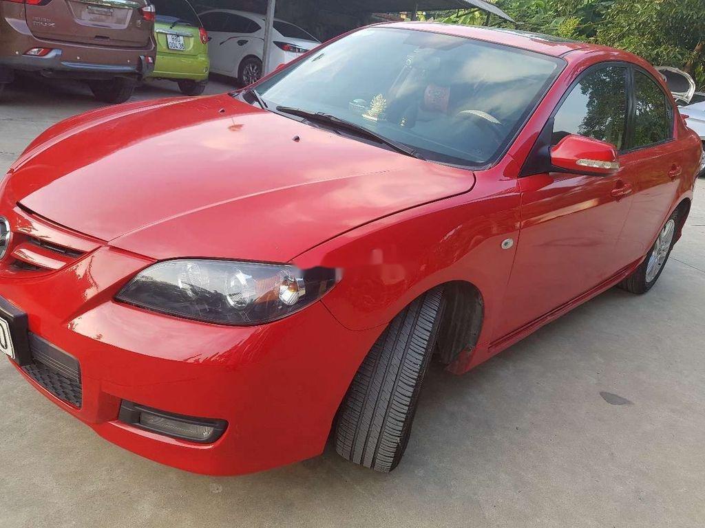 Cần bán lại xe Mazda 3 năm sản xuất 2010, màu đỏ, nhập khẩu  (1)