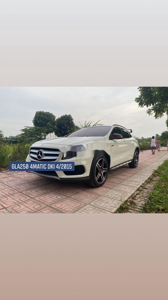 Bán xe Mercedes GLA250 4Matic năm 2014, màu trắng, nhập khẩu (3)