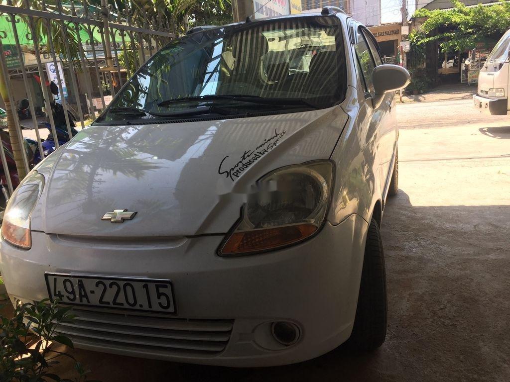 Bán Chevrolet Spark đời 2011, màu trắng, giá chỉ 120 triệu (1)