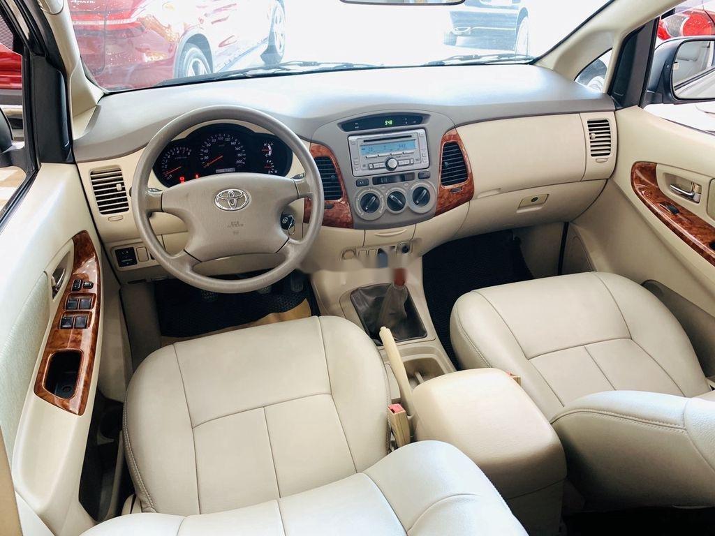 Cần bán gấp Toyota Innova G 2007, màu bạc, giá chỉ 295 triệu  (10)