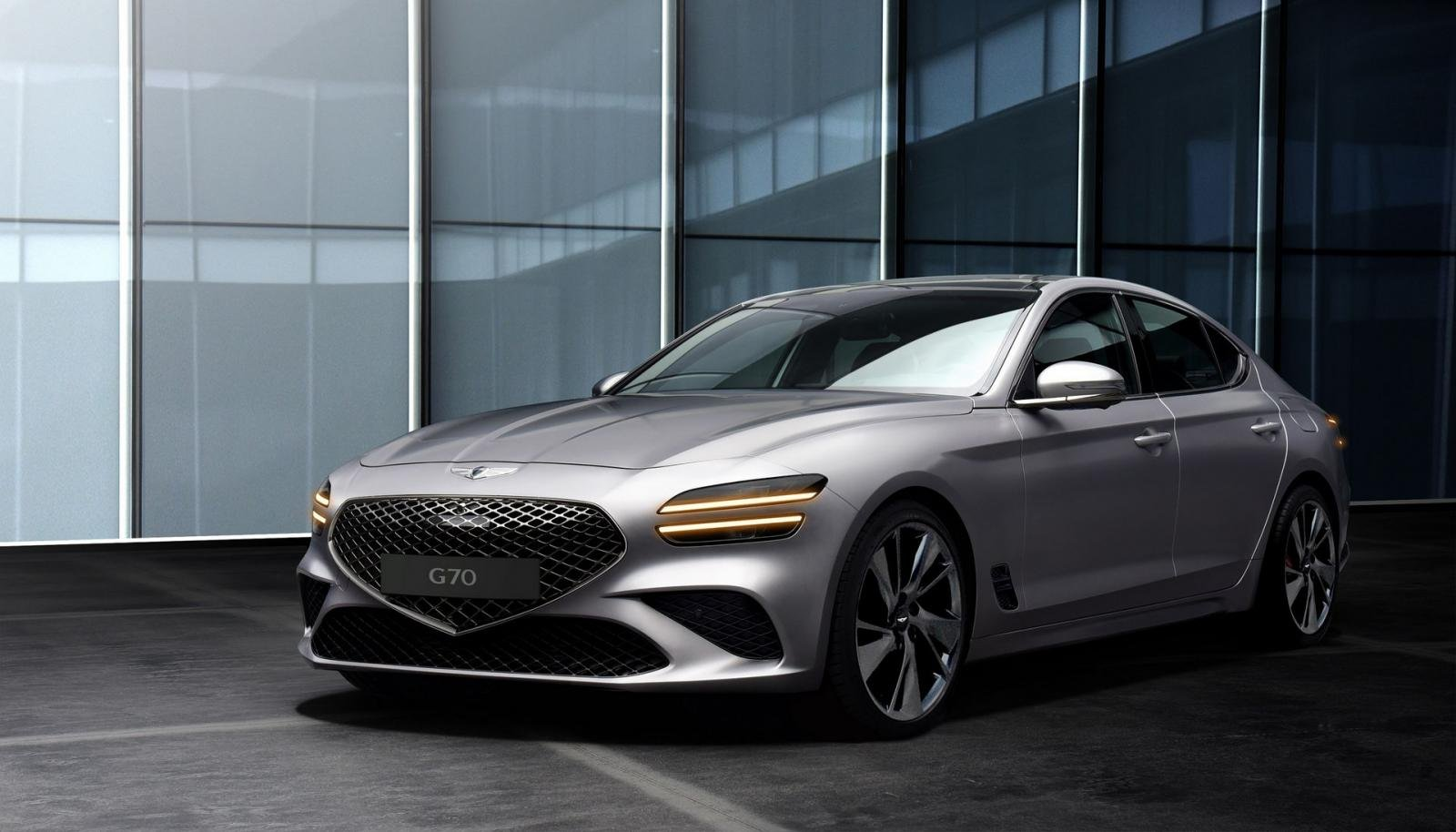 Genesis G70 2022 facelift lộ diện sớm