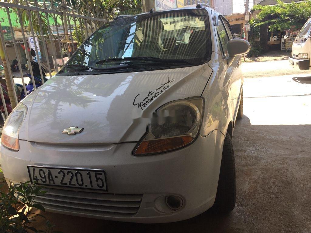 Bán Chevrolet Spark đời 2011, màu trắng, giá chỉ 120 triệu (5)