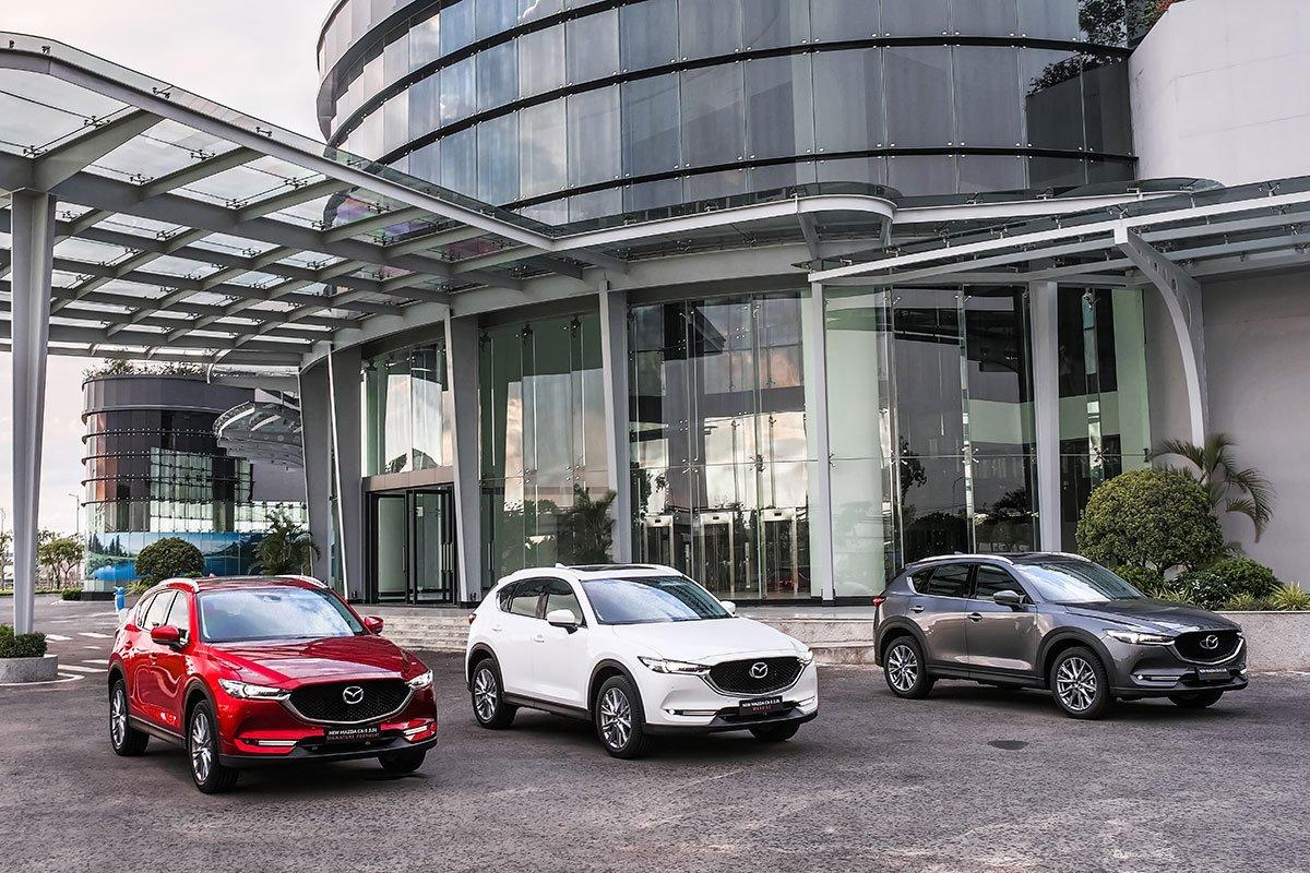 Mazda CX-5 hiện đang áp dụng nhiều chương trình khuyến mãi 1