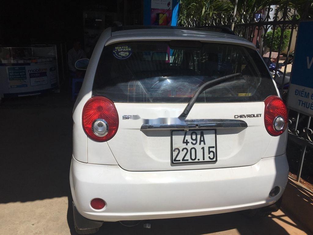 Bán Chevrolet Spark đời 2011, màu trắng, giá chỉ 120 triệu (2)