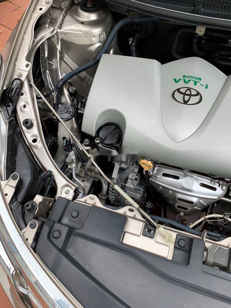 Bán xe Toyota Vios đời 2016, màu vàng cát (8)