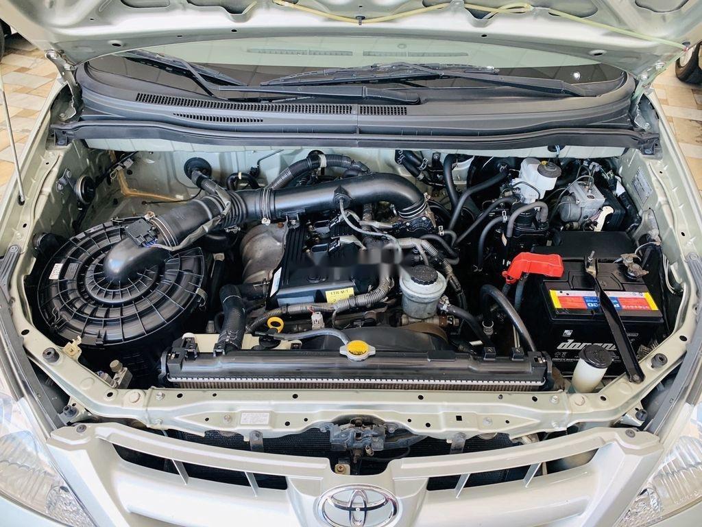 Cần bán gấp Toyota Innova G 2007, màu bạc, giá chỉ 295 triệu  (6)