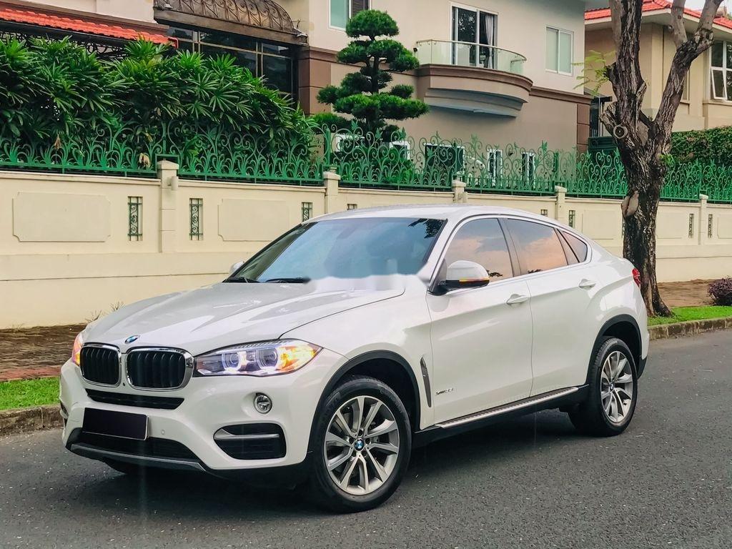 Bán BMW X6 Xdrive 35i đời 2017, màu trắng, nhập khẩu  (1)