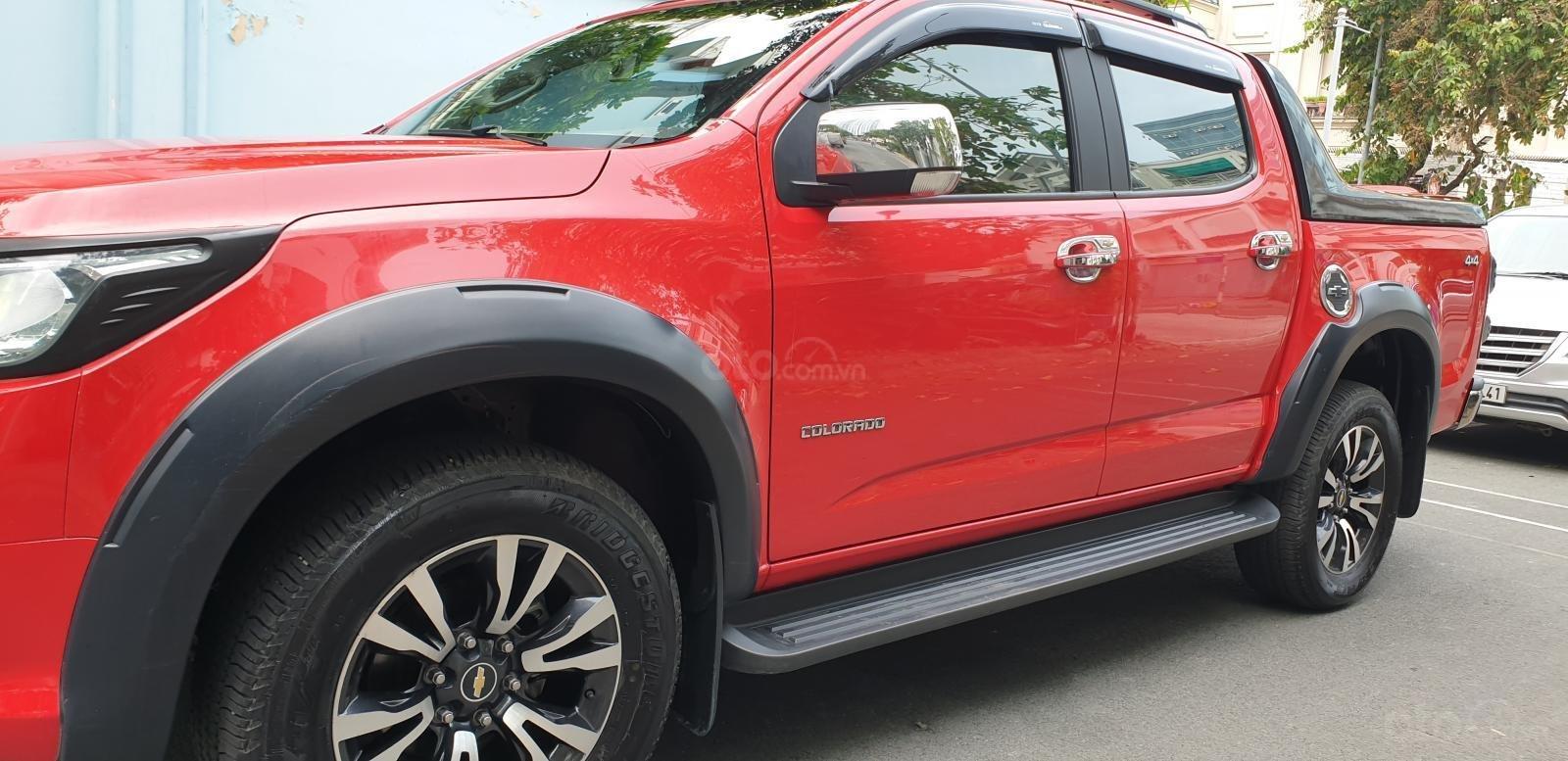 Bán Chevrolet Colorado LTZ 2 cầu số tự động đời 2017 màu đỏ nhập mới 80% (2)