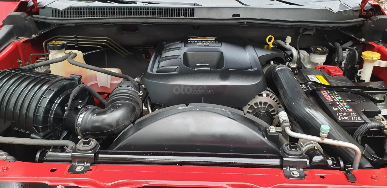 Bán Chevrolet Colorado LTZ 2 cầu số tự động đời 2017 màu đỏ nhập mới 80% (15)
