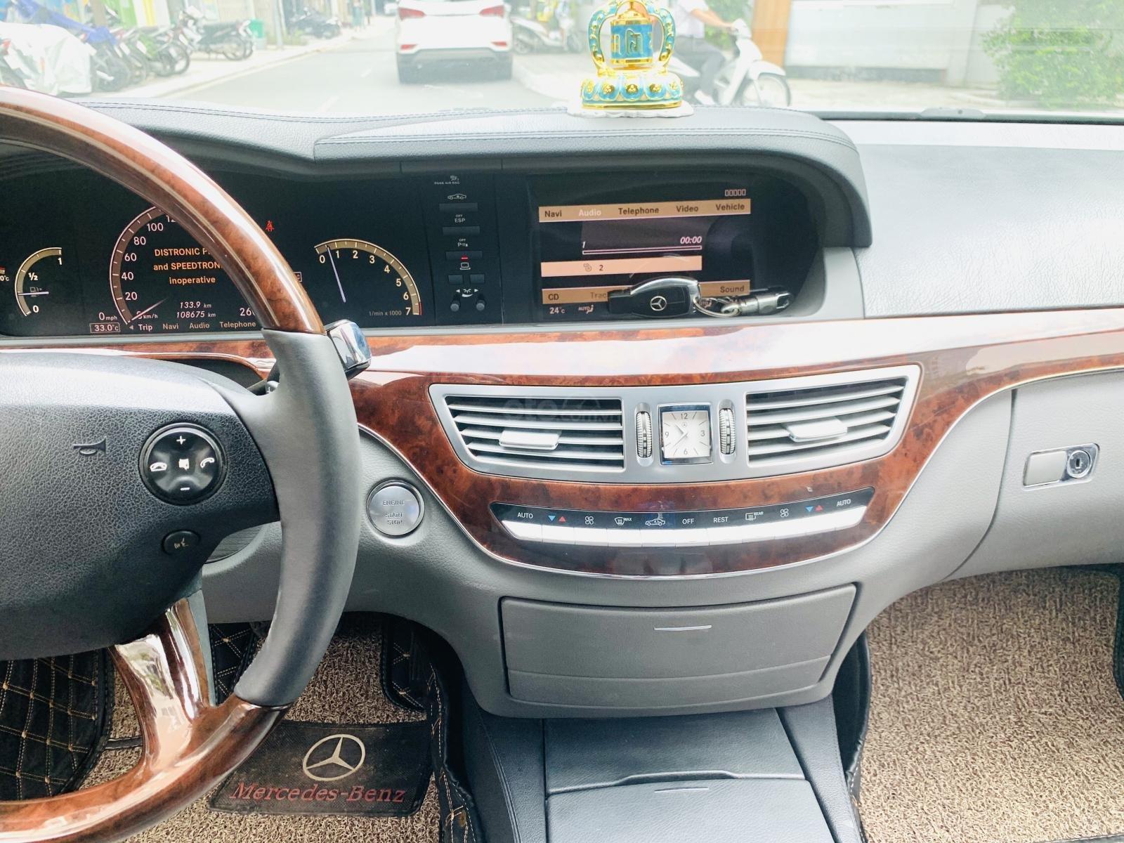Bán Mercedes S500 SX 2008 bản full đẹp xuất sắc, giá rẻ nhất Việt Nam (9)
