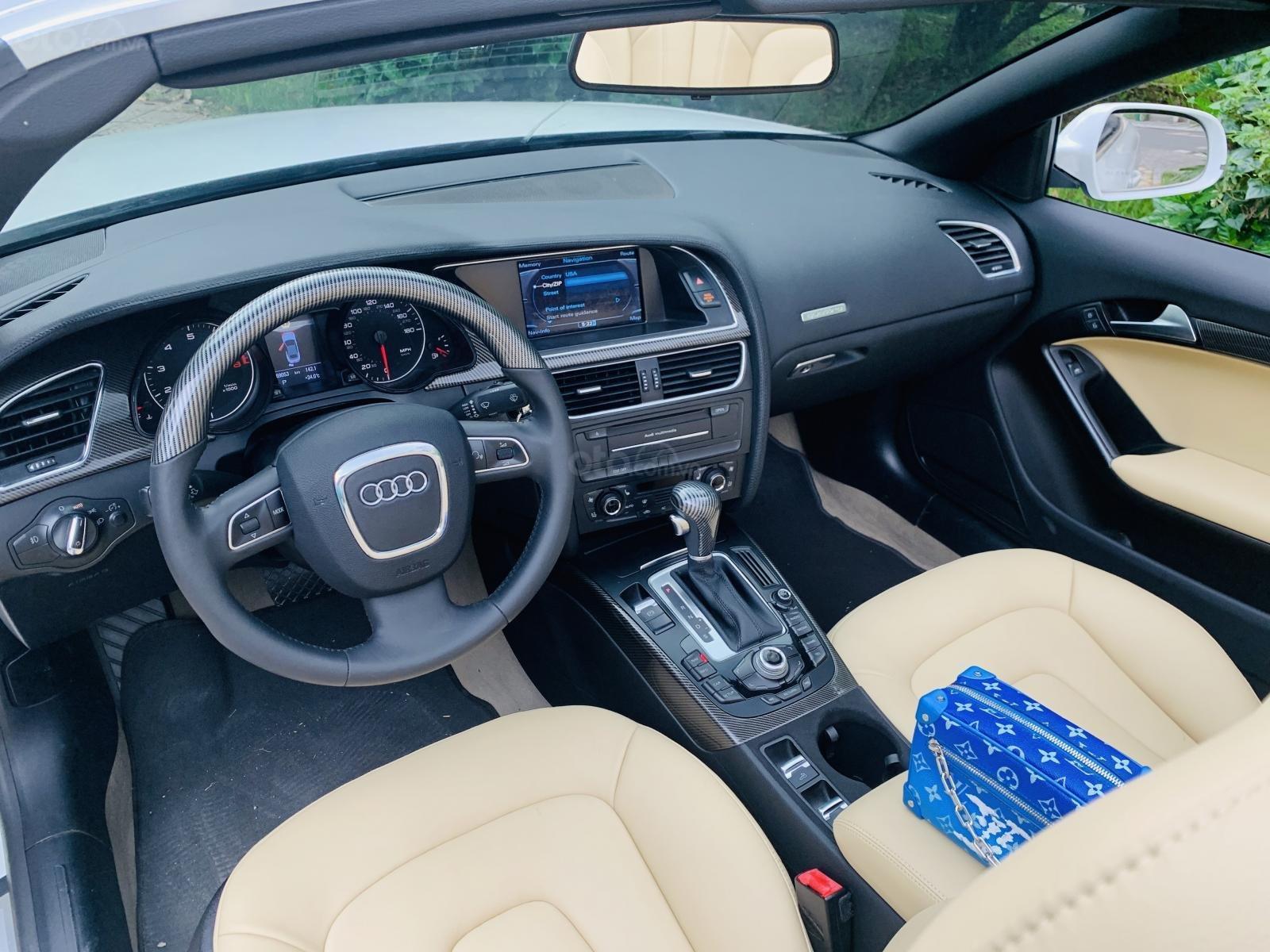 Audi A5 - 2.0 mui trần màu trắng xe đẹp biển vip giá rẻ (6)