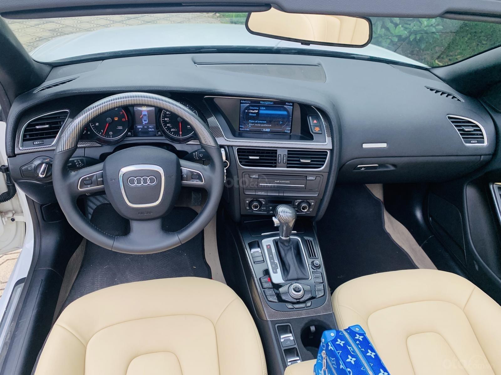 Audi A5 - 2.0 mui trần màu trắng xe đẹp biển vip giá rẻ (7)