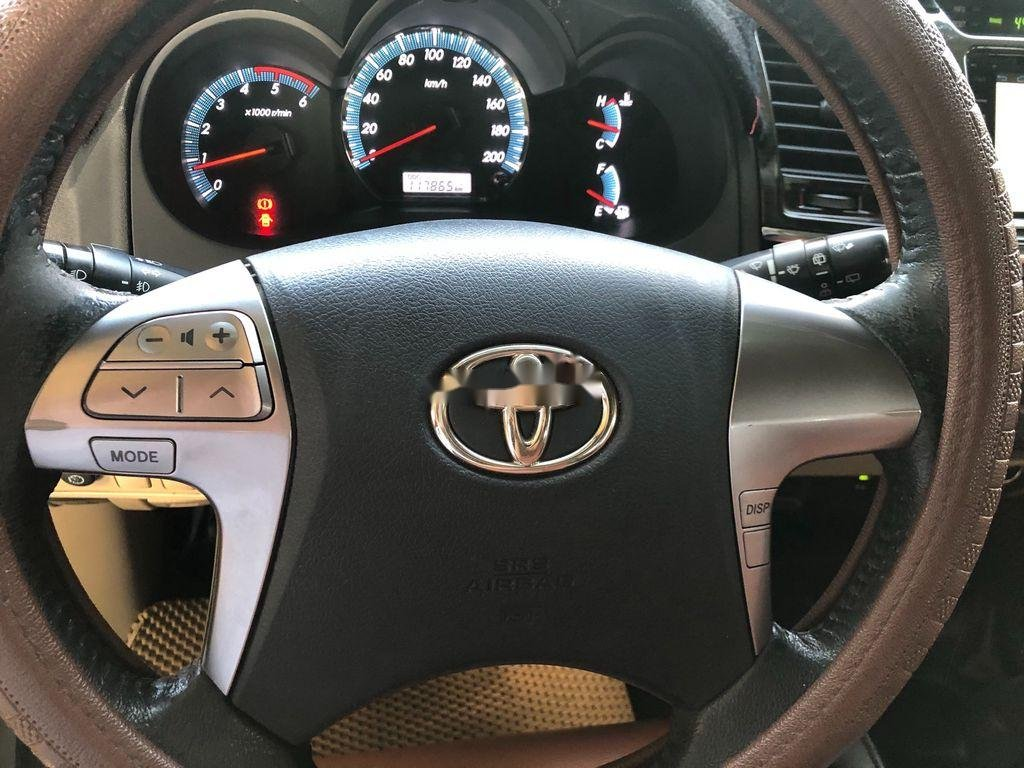 Bán Toyota Fortuner sản xuất 2015, màu bạc (9)
