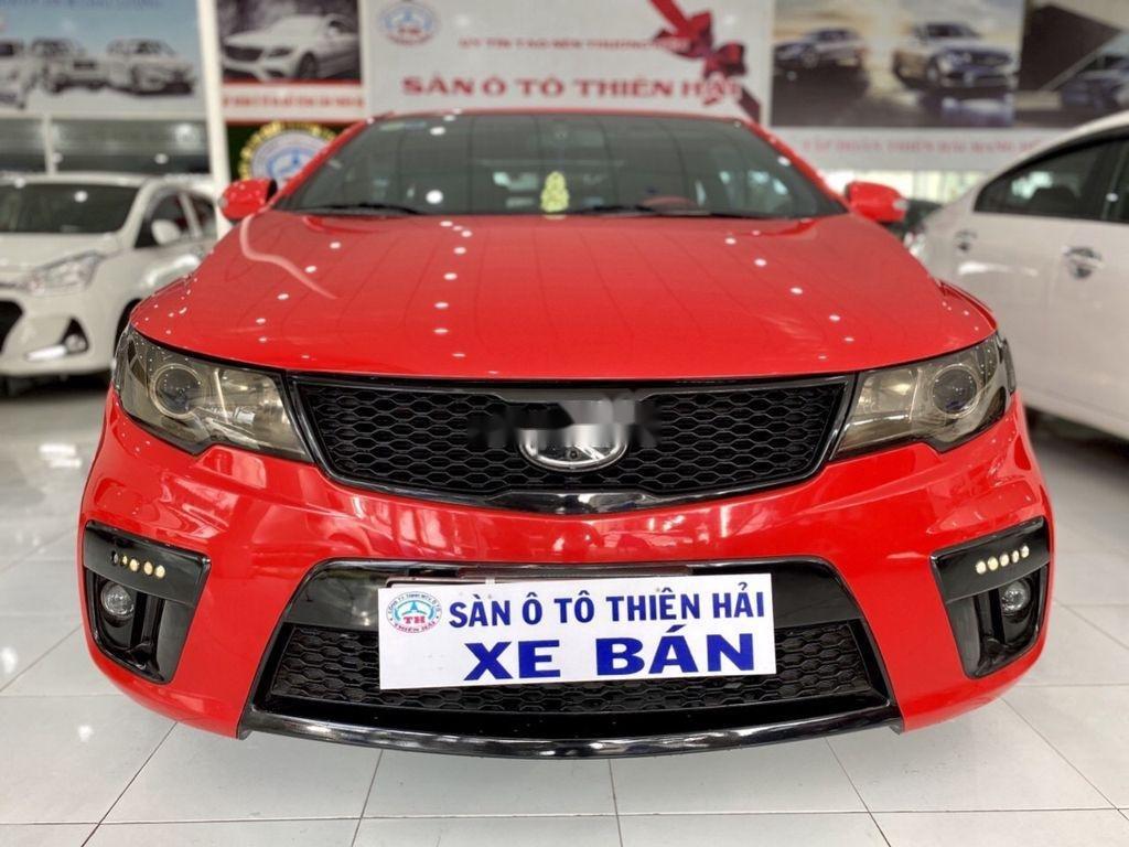 Cần bán xe Kia Cerato 2.0 AT đời 2009, màu đỏ, dáng Coupe (1)