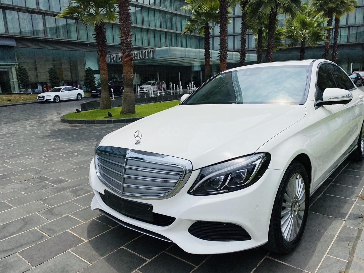 Mercedes C250 SX 2015 model 2016 màu trắng nội thất đen (5)