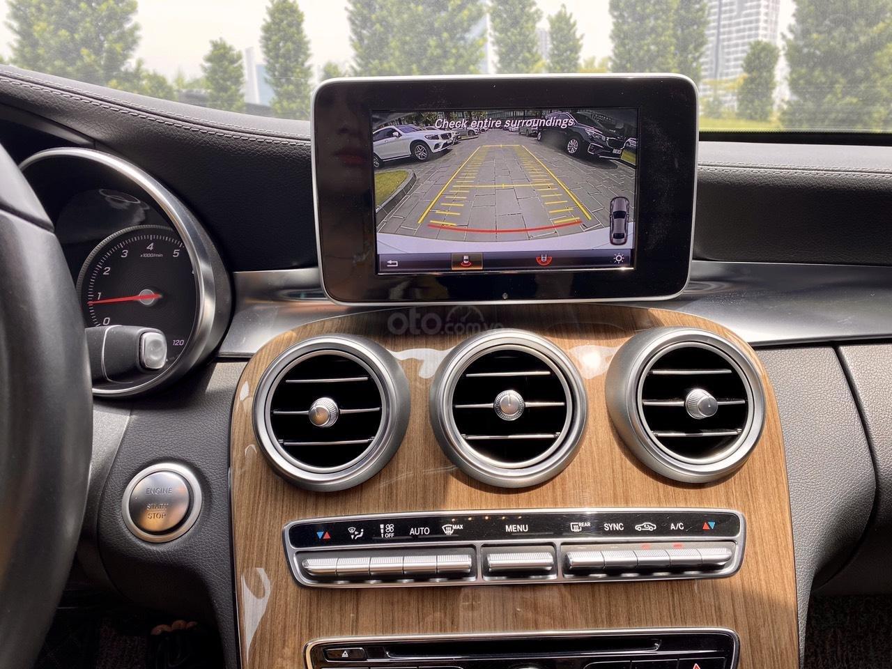Mercedes C250 SX 2015 model 2016 màu trắng nội thất đen (4)