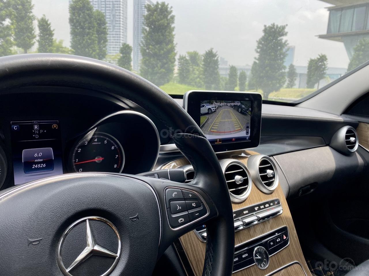 Mercedes C250 SX 2015 model 2016 màu trắng nội thất đen (11)
