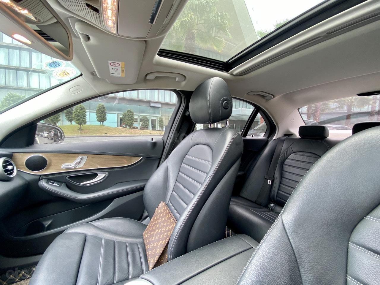 Mercedes C250 SX 2015 model 2016 màu trắng nội thất đen (12)