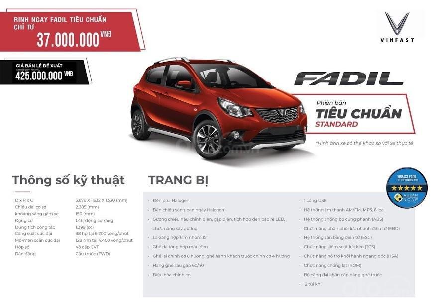 Xe VinFast Fadil 1.4 AT 2020 - giá khủng (9)