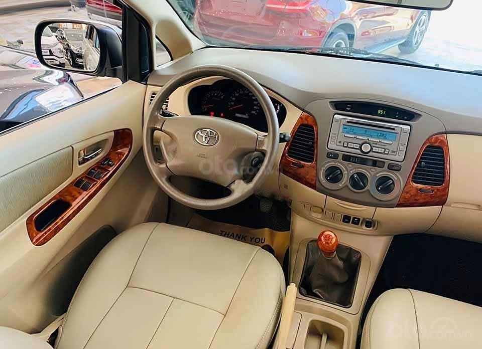 Cần bán lại xe Toyota Innova G 2007, màu bạc còn mới  (4)