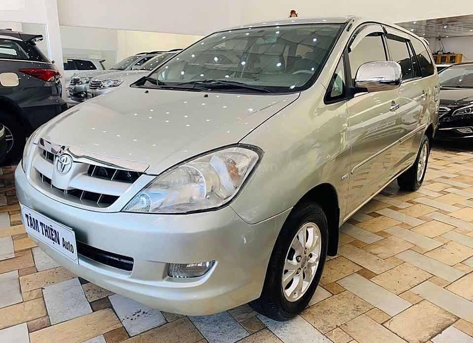Cần bán lại xe Toyota Innova G 2007, màu bạc còn mới  (1)