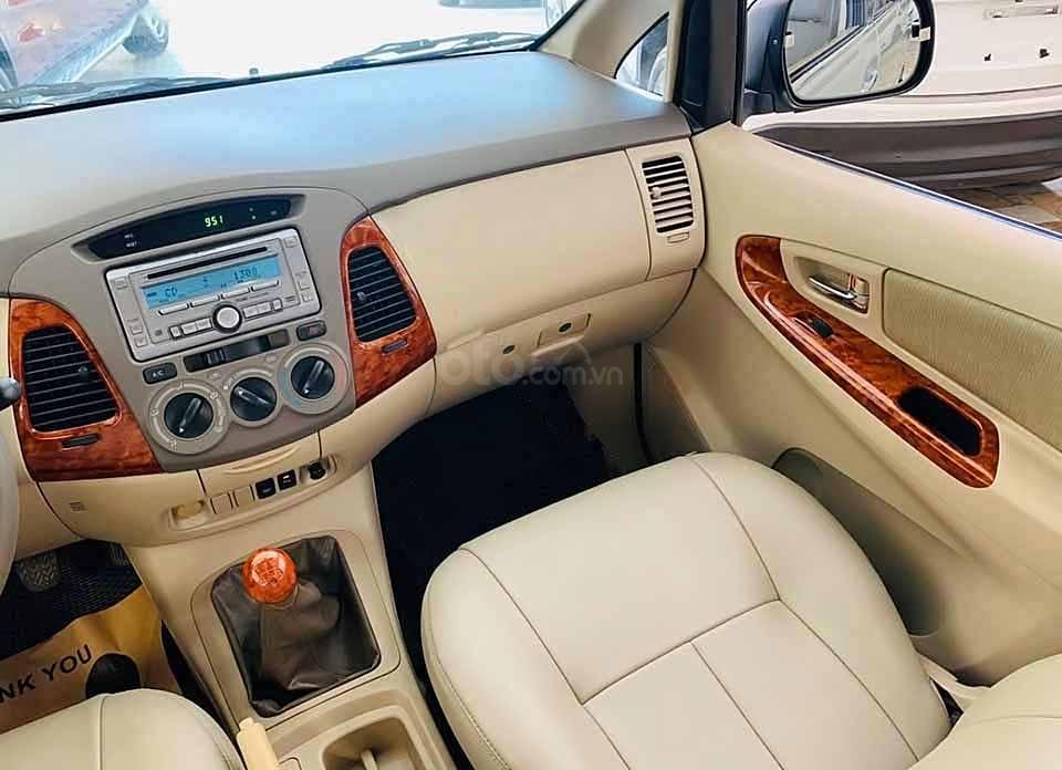 Cần bán lại xe Toyota Innova G 2007, màu bạc còn mới  (2)