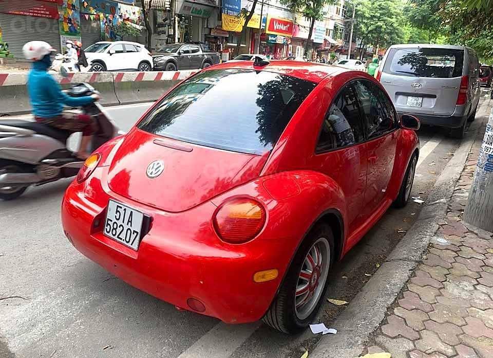 Bán Volkswagen New Beetle 2004, màu đỏ, nhập khẩu nguyên chiếc    (3)