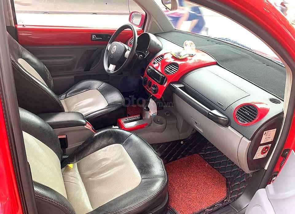 Bán Volkswagen New Beetle 2004, màu đỏ, nhập khẩu nguyên chiếc    (5)