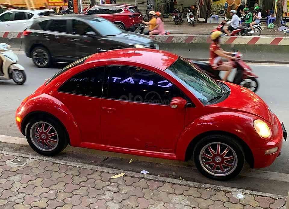 Bán Volkswagen New Beetle 2004, màu đỏ, nhập khẩu nguyên chiếc    (1)