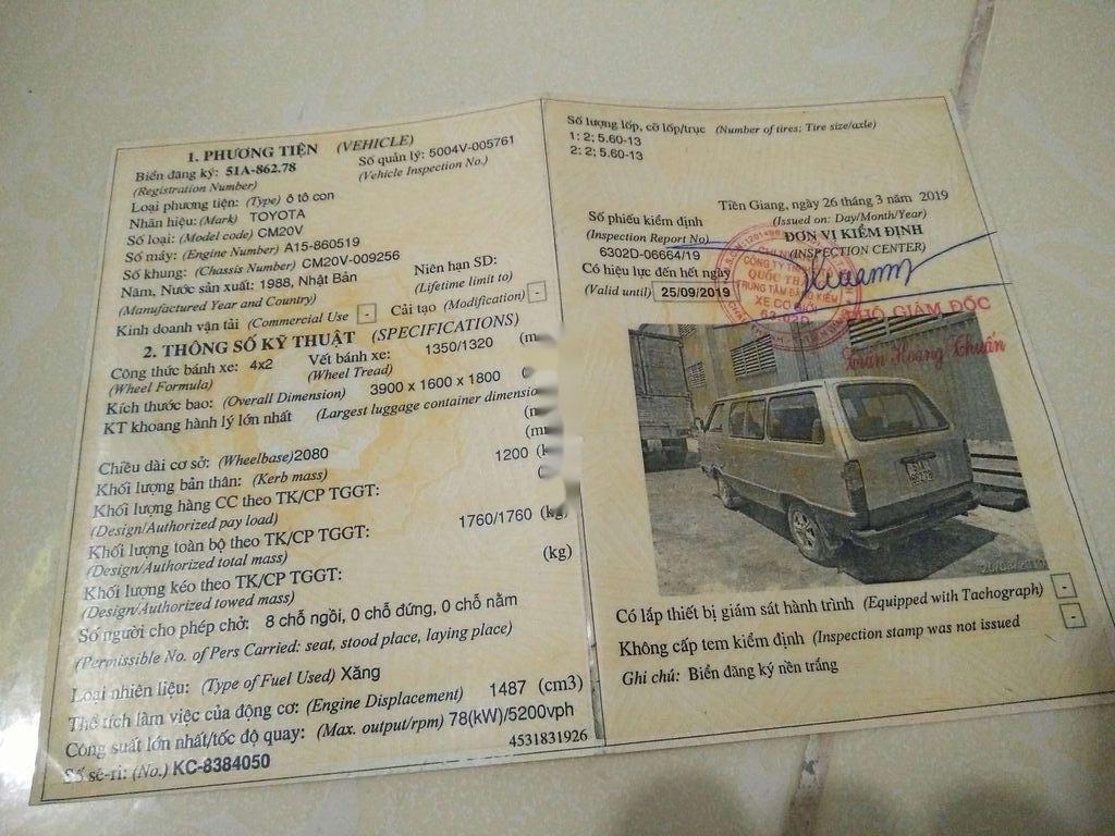 Bán Toyota Hiace sản xuất năm 1999, màu trắng, xe nhập, giá tốt (3)