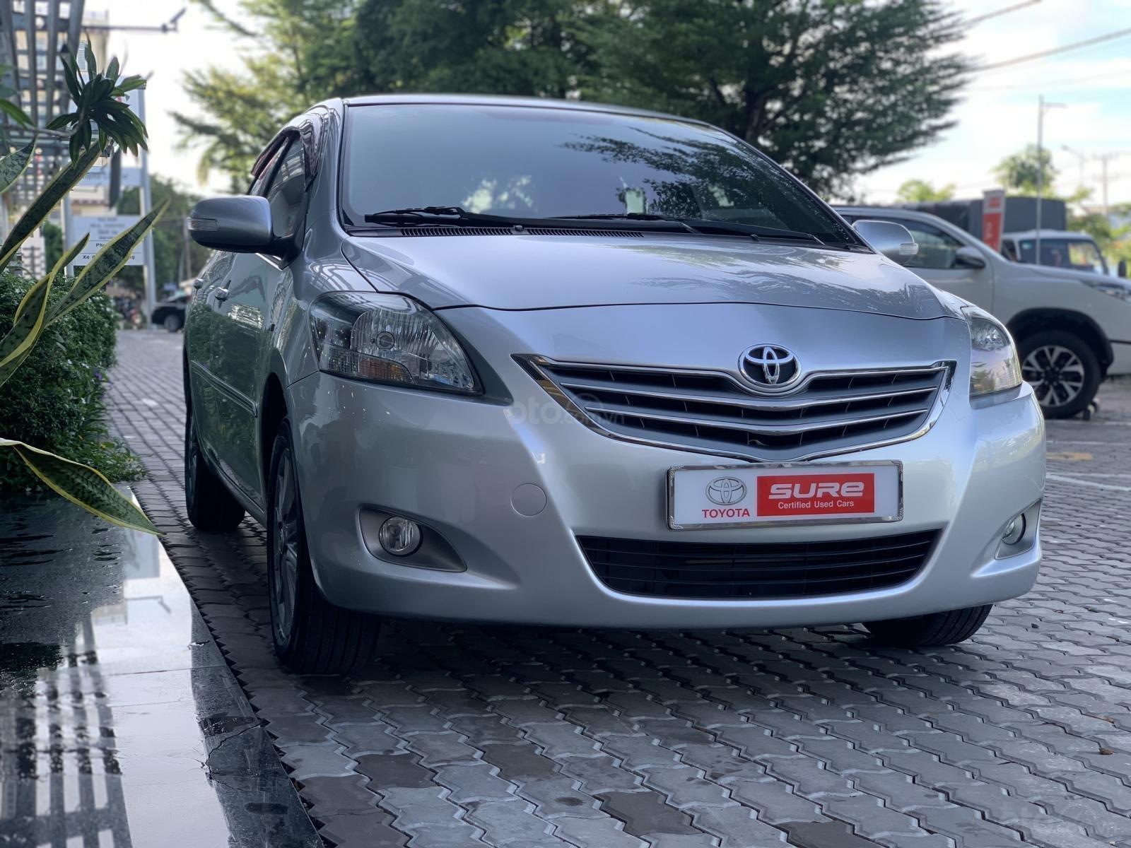 Bán Toyota Vios số sàn 2013, trùm mền 62,000km (3)