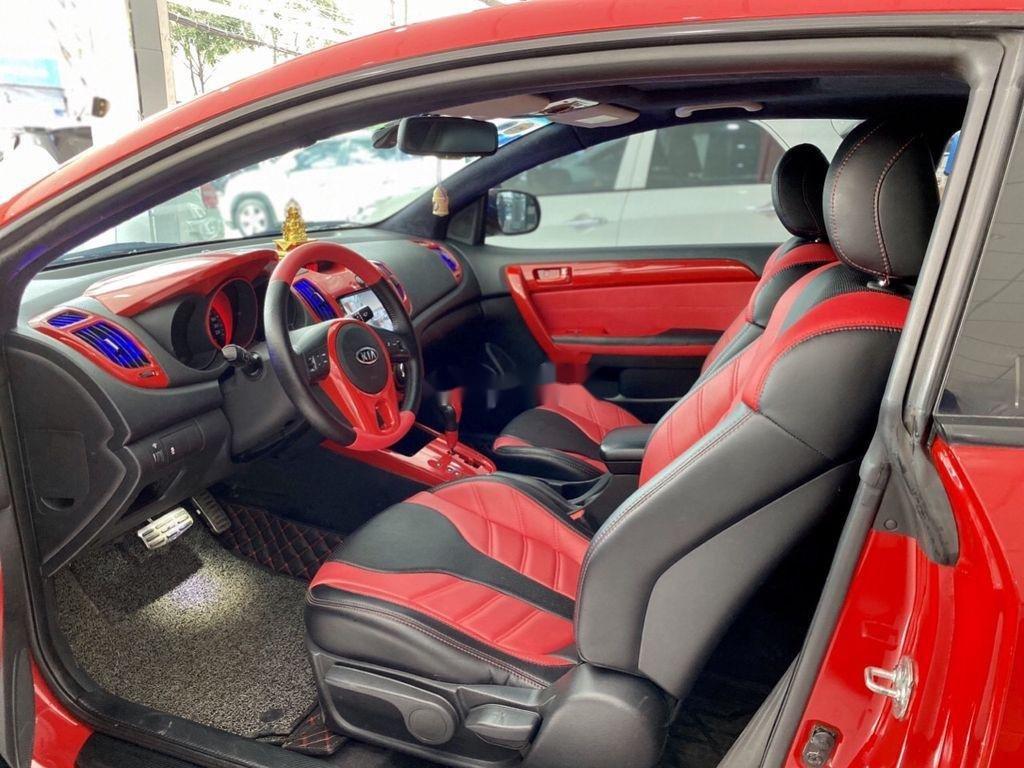 Cần bán xe Kia Cerato 2.0 AT đời 2009, màu đỏ, dáng Coupe (7)