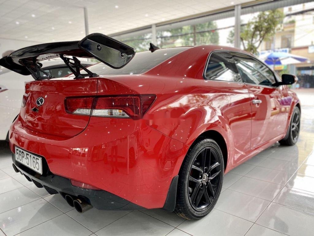 Cần bán xe Kia Cerato 2.0 AT đời 2009, màu đỏ, dáng Coupe (4)