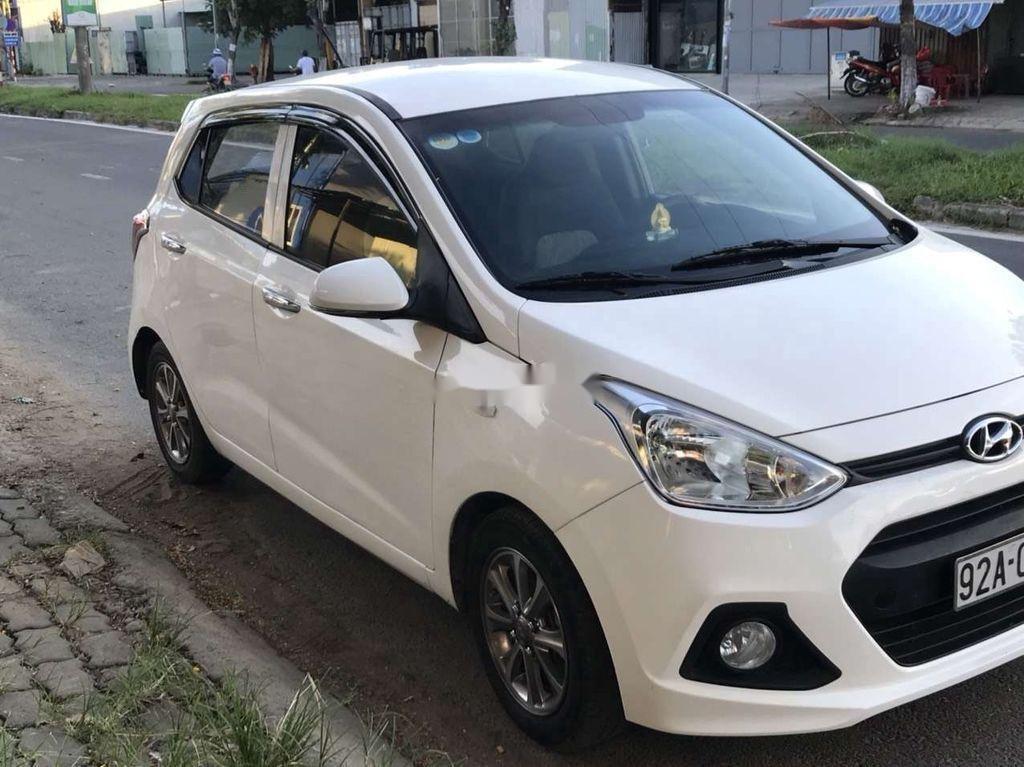 Bán ô tô Hyundai Grand i10 sản xuất năm 2016, màu trắng, nhập khẩu (1)