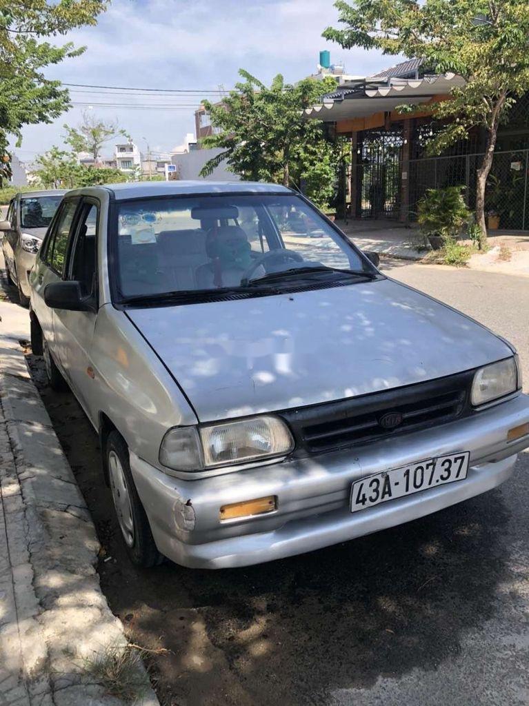 Bán ô tô Kia Pride đời 1993, màu bạc, nhập khẩu, giá tốt (1)