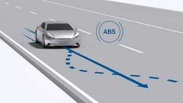 Tác dụng lớn nhất của phanh ABS là cho phép tài xế tiếp tục kiểm soát được hướng lái và chống hiện tượng trượt khi phanh gấp.