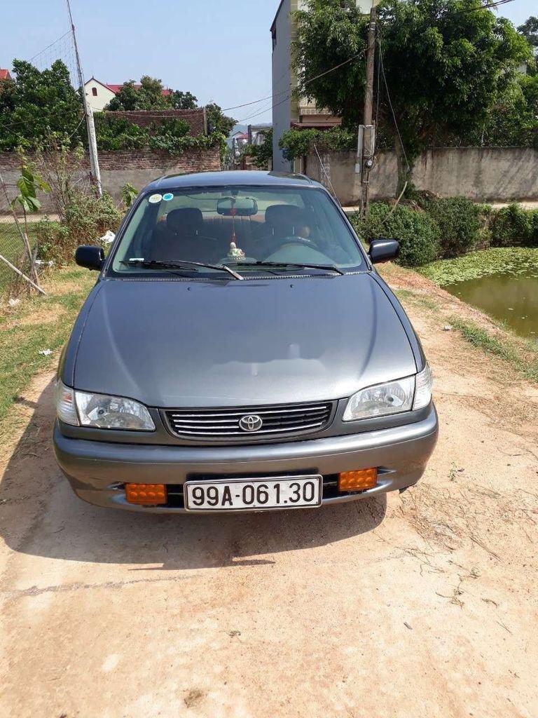 Bán xe Toyota Corolla đời 1999, màu xám, giá tốt (1)