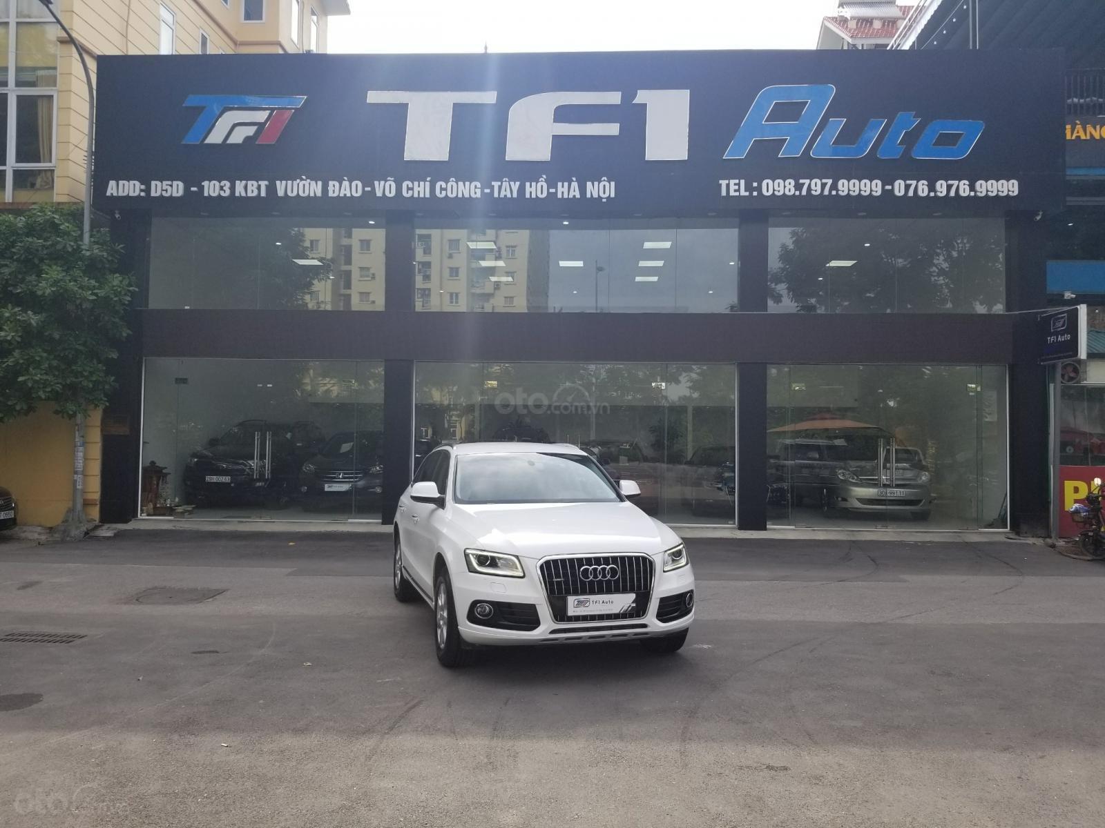 Bán Audi Q5 2.0 TFSI Quattro, sản xuất 2016, đăng ký 2017, màu trắng (1)