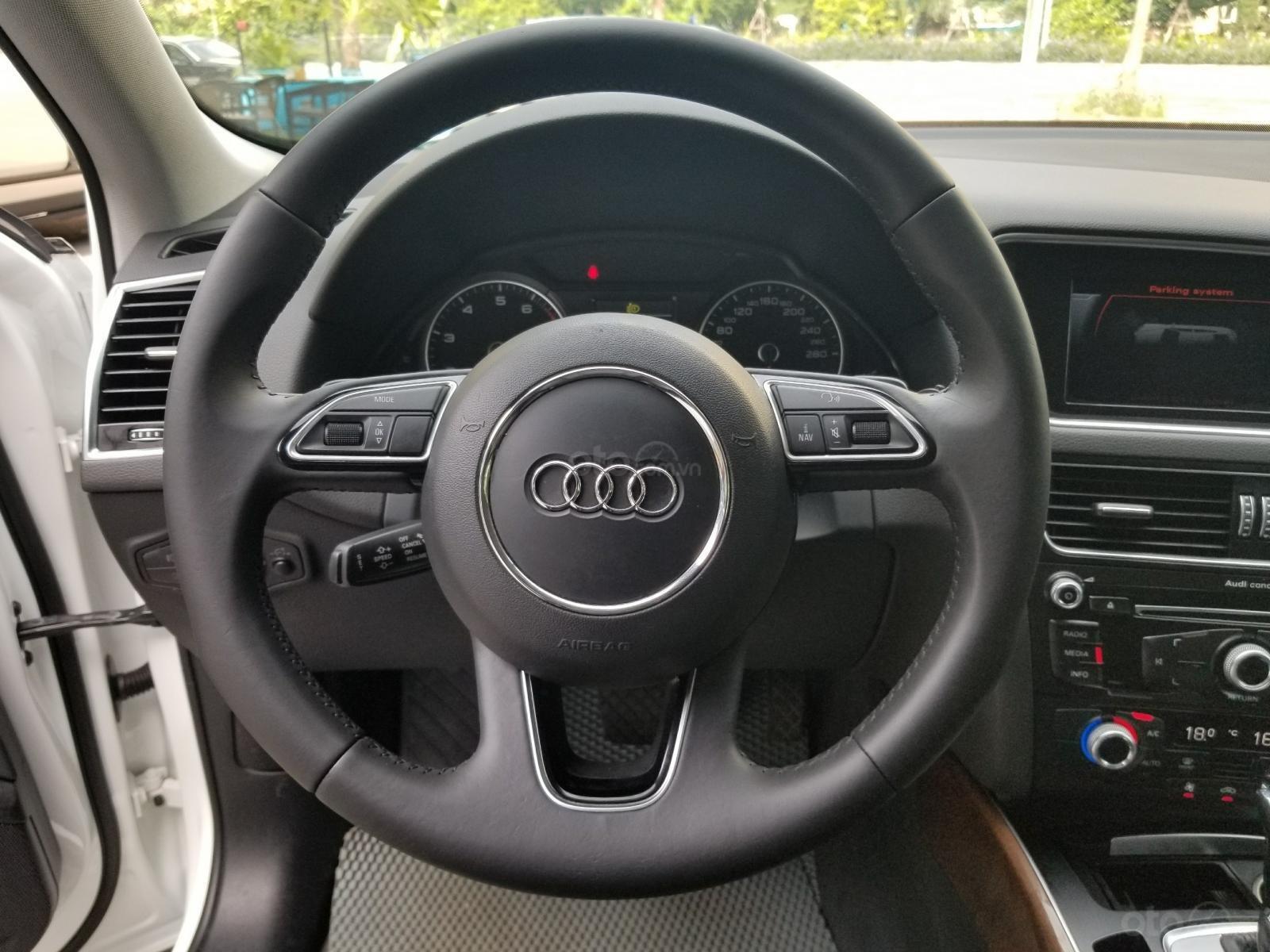 Bán Audi Q5 2.0 TFSI Quattro, sản xuất 2016, đăng ký 2017, màu trắng (7)