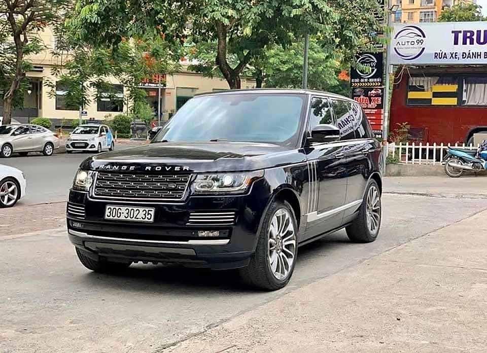 Cần bán gấp LandRover Range Rover Ranrover Autobio năm 2013, màu đen, nhập khẩu nguyên chiếc còn mới (1)