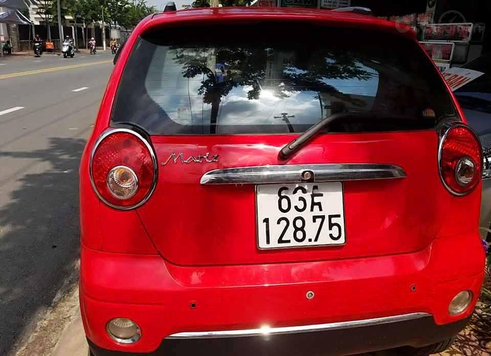 Bán ô tô Daewoo Matiz đời 2009, màu đỏ, nhập khẩu nguyên chiếc còn mới   (2)